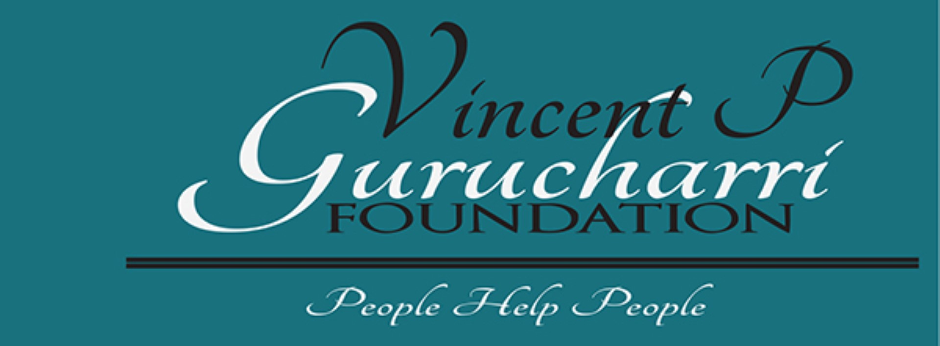 Vincent P. Gurucharri MD Foundation header image